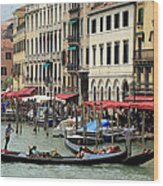 Venice Grand Canal 2 Wood Print