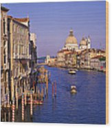 Venice, Grand Canal, Italy Wood Print