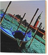 Venice In Color Wood Print