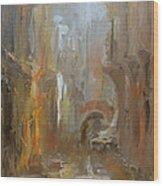 Venice Wood Print by Nelya Shenklyarska