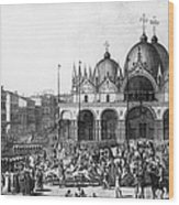 Venice: Saint Marks, 1797 Wood Print