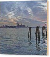 Venice San Giorgio Maggiore Wood Print