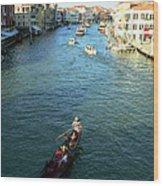 Venice View Wood Print