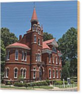 Ventress Hall Ole Miss Wood Print