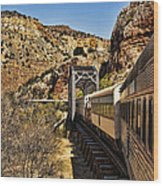Verde Valley Railway Wood Print