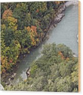 Verdon River Wood Print
