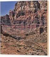 Vermilion Cliffs Arizona Wood Print