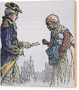 Vermont: Manumission, 1777 Wood Print