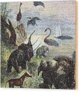 Verne: Journey Wood Print