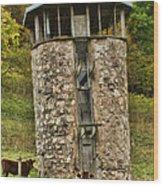 Vernon County Silo Wood Print