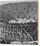 Verona: Amphitheater Wood Print