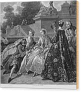 Versailles: Court Life Wood Print