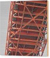 Vertebrae Of The Bridge Wood Print