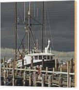 Vessel 99 Wood Print