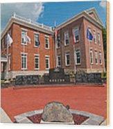 Veterans Memorial Hillsboro Wood Print