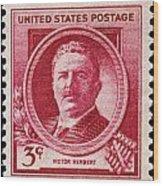 Victor Herbert Postage Stamp Wood Print