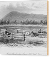 Victoria, Australia, 1856 Wood Print