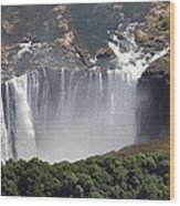Victoria Falls II Wood Print by Christian Heeb
