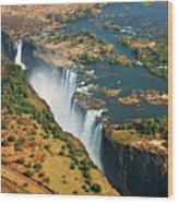 Victoria Falls, Zambia Wood Print