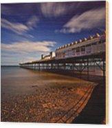 Victoria Pier Wood Print