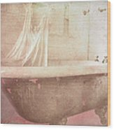 Victorian Bath Wood Print
