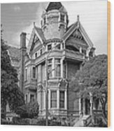 Victorian Haas Lilienthal House In San Francisco Wood Print