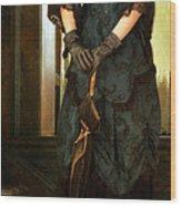 Victorian Lady  Wood Print