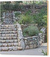 Victorian Stairway Wood Print