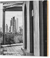 Viejo Y Nuevo Wood Print by John Rizzuto