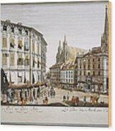 Vienna, 1779 Wood Print