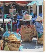 Vietnam Ctreet Wood Print