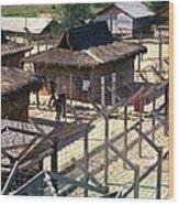 Vietnam War, Chu Lai, Vietnam, Prisoner Wood Print