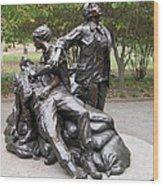 Vietnam Women's Memorial Wood Print