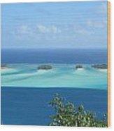 View Across Polynesia Wood Print