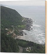 View From Cape Perpetua 2 Wood Print