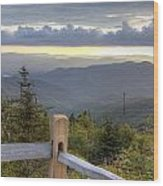 View From Clingmans Dome 2 Wood Print