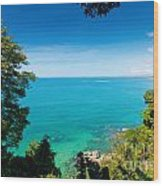 View From Khao-lak Wood Print