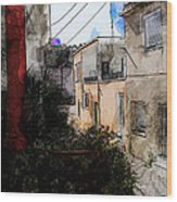 View From Kitchen Window --23 Wood Print