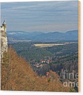 View From Koenigstein Fortress Germany Wood Print