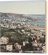 View From Mustapha - Algiers Algeria Wood Print