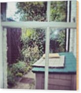 View From My Window, #cambridge #view Wood Print