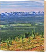 View From Ogilvie Ridge Lookout Wood Print