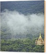 View From Phu Si Hill Wood Print
