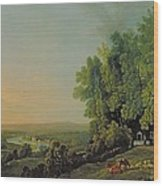 View From Richmond Wood Print