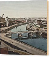 view from St Saviours - Moscow - Russia Wood Print