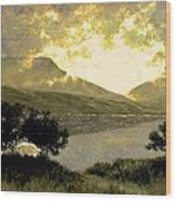 View Of Ben Bulben Wood Print