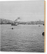 View Of Galata And Istanbul - Between 1880-1893 Wood Print
