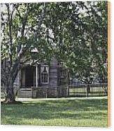 View Of Jones Law Offices Appomattox Virginia Wood Print