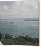 View Of The Marmara Sea - Istanbul Wood Print