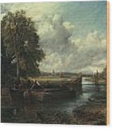 View Of The Stour Near Dedham Wood Print